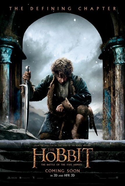 New Poster And First Teaser For THE HOBBIT: THE BATTLE OF THE FIVE ARMIES