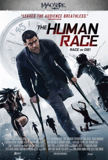 Win A Signed Poster For Sci-Fi Thriller THE HUMAN RACE