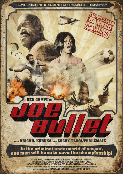 Banned South African Action Film JOE BULLET Storms Back To Screens With Restored Release
