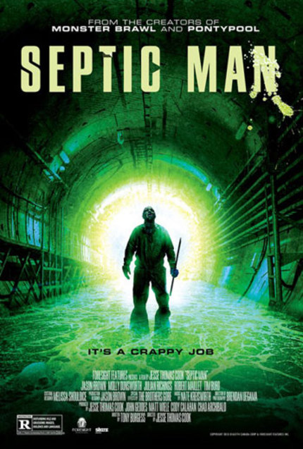 SEPTIC MAN: Watch This Crappy Opening Scene. Literally.