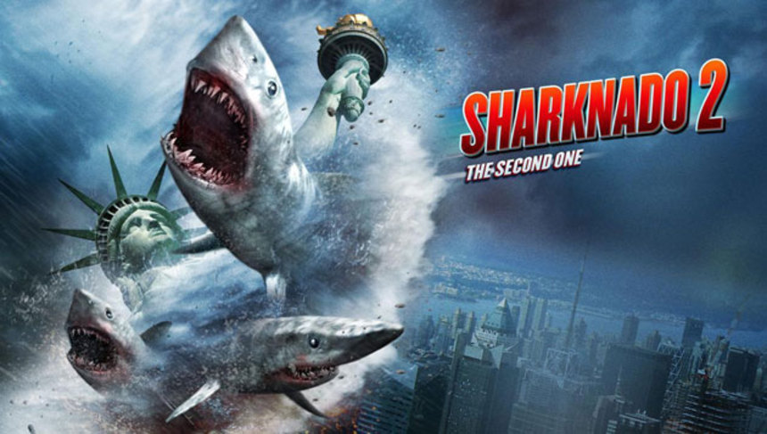 Review: SHARKNADO 2: THE SECOND ONE, A Silly Story In Which Every Moment Is Outlandish
