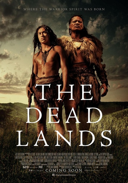 Take A Look At The Poster For Maori Action Pic THE DEAD LANDS