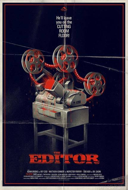 THE EDITOR: Astron-6 Lay On The Blood With The Teaser For Their Toronto Selected Giallo Comedy