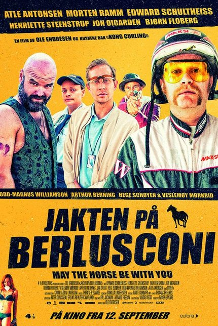 Overweight Jockey Turns To Crime In Norwegian Comedy CHASING BERLUSCONI