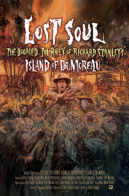 Check Out This Sweet Poster For LOST SOUL - THE DOOMED JOURNEY OF RICHARD STANLEY¹S ISLAND OF DR. MOREAU