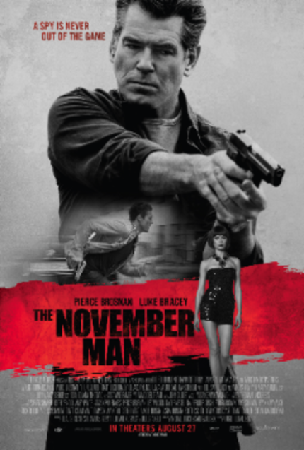 Win A Prize Pack From Pierce Brosnan Starring Spy Thriller THE NOVEMBER MAN