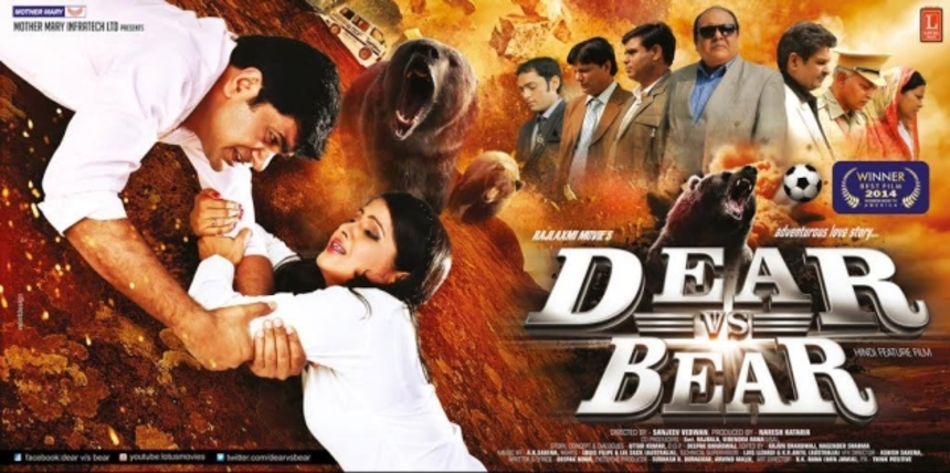 Forget BATMAN V SUPERMAN, This Is DEAR V/S BEAR! Bollywood Gone Bonkers!