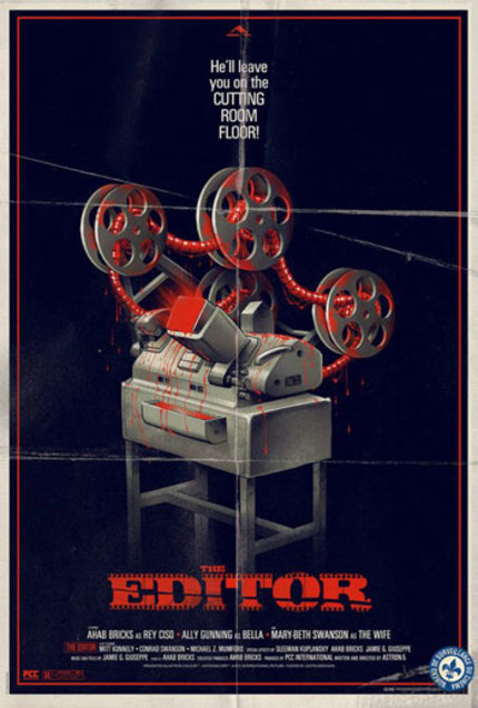 Astron-6's THE EDITOR To Open Celluloid Screams: Sheffield Horror Film Festival