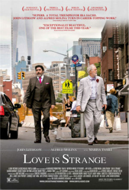 Review: LOVE IS STRANGE, A Modest And Delicate Tale