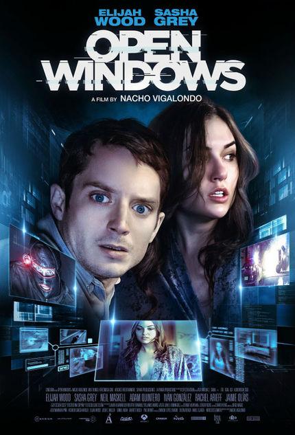 OPEN WINDOWS: New Poster Stars Elijah Wood And Sasha Grey