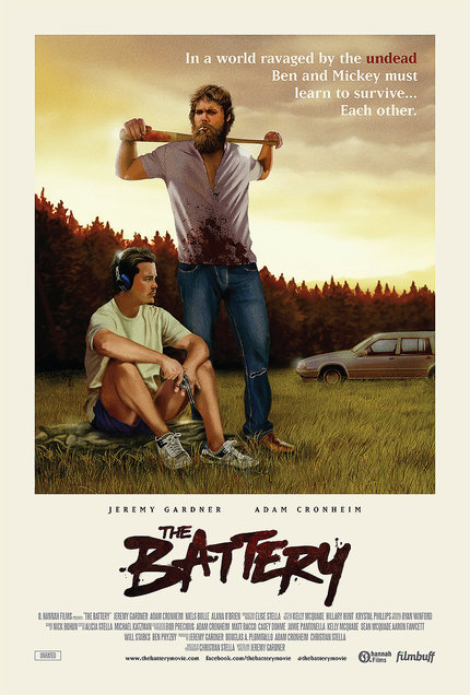 Interview: THE BATTERY's Jeremy Gardner And Adam Cronheim Talk Zombies, Indie Filmmaking Challenges, And Brawling With WALKING DEAD's Rick Grimes