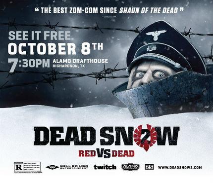 Hey Dallas! Win Tickets To See DEAD SNOW 2: RED VS. DEAD!