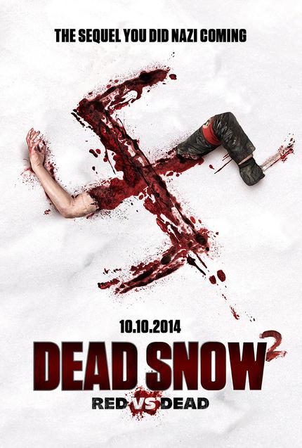 Fantastic Fest 2014 Review: DEAD SNOW 2: RED VS DEAD Is Batshit Crazy