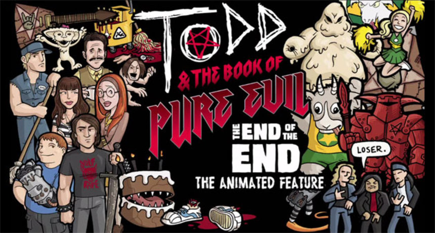 Raven Banner To Distribute TODD & THE BOOK OF PURE EVIL: THE END OF THE END Animated Feature