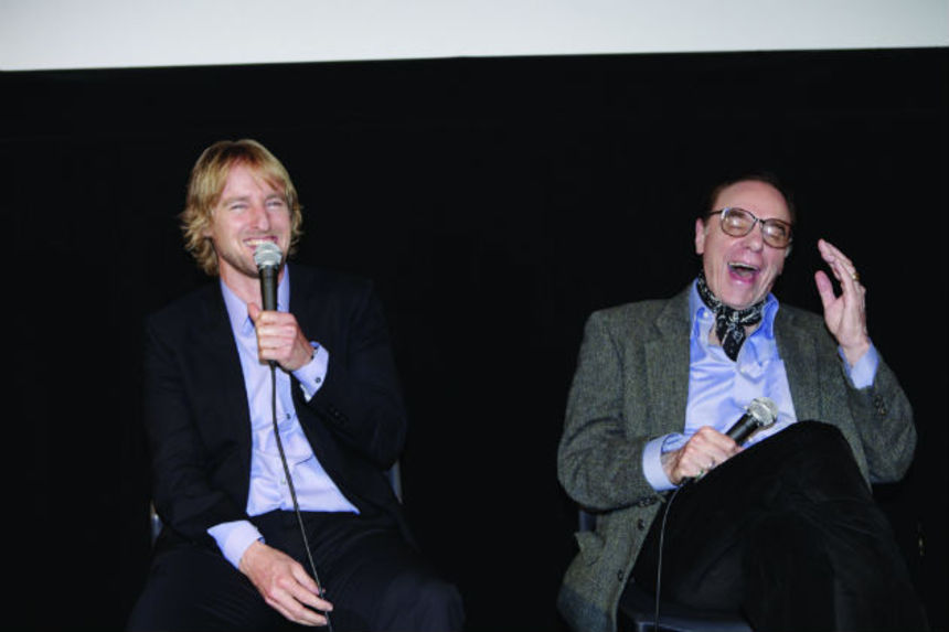 Tokyo 2014: Peter Bogdanovich And Owen Wilson Talk SHE'S FUNNY THAT WAY