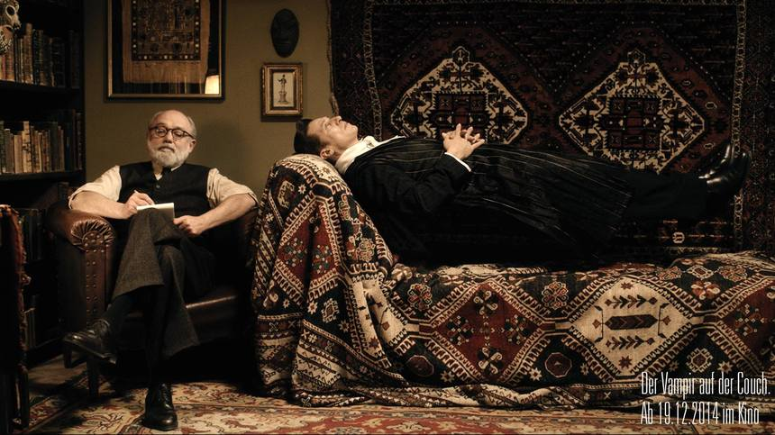 Sigmund freud treats the undead in austrian comedy the for Divan freud