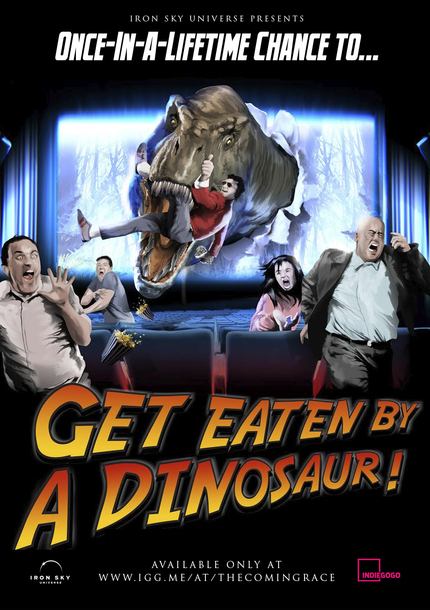 Get Eaten By A Dinosaur In IRON SKY 2!
