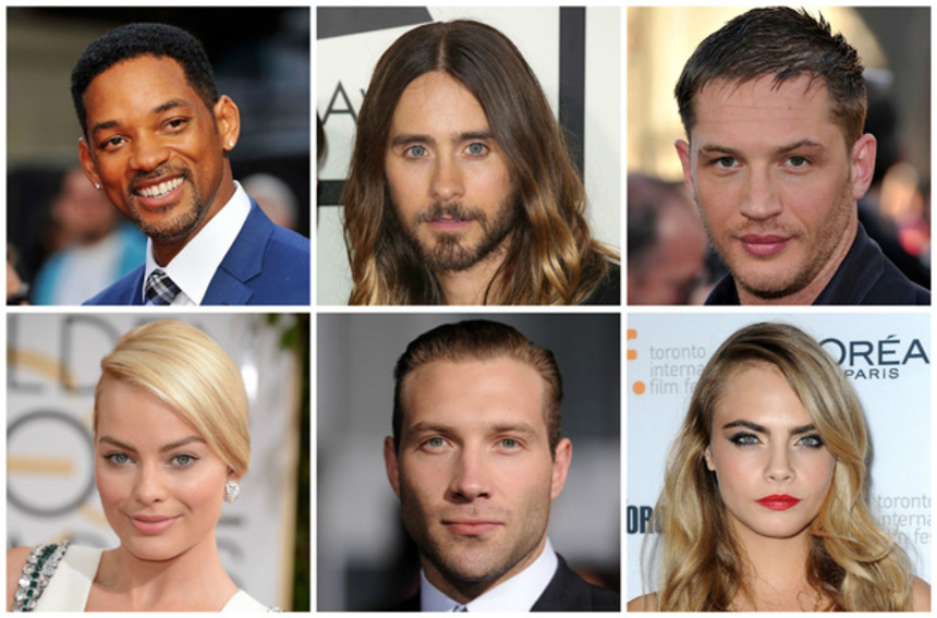 SUICIDE SQUAD: Will Smith, Jared Leto, Tom Hardy And Margot Robbie Officially Cast