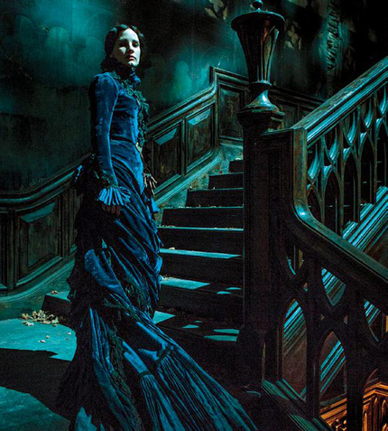 Our First Look At Jessica Chastain In Del Toro's CRIMSON PEAK