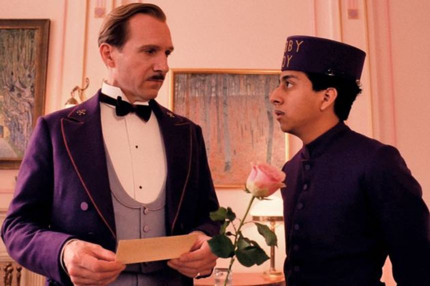 THE GRAND BUDAPEST HOTEL Tops Online Film Critics Awards