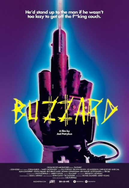 BUZZARD: Watch The Official Trailer. But You Gotta Give Him Room.