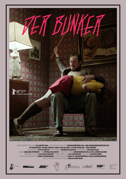 THE BUNKER: Poster Debut And First Clip For Nikias Chryssos' Berlin Selected Dark Satire