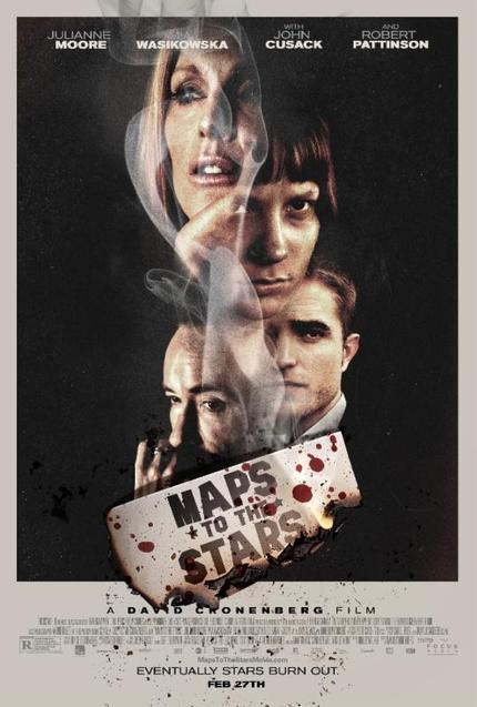 MAPS TO THE STARS: Deliciously Dark US Trailer and Poster Revealed
