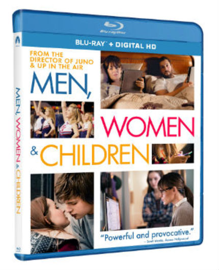 Giveaway: MEN, WOMEN & CHILDREN - Win 1 Of 3 Blu-rays; Grand Prize Gets The Original Book
