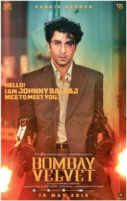 Poster Alert! Say Hello To BOMBAY VELVET's Johnny Balraj