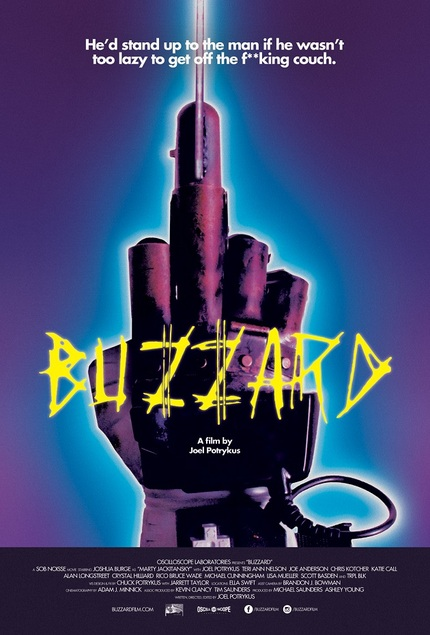Exclusive: Your First Look At The Poster For Joel Potrykus' BUZZARD!