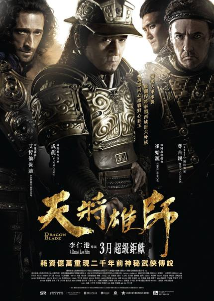 Final Trailers For Historical Actioner DRAGON BLADE