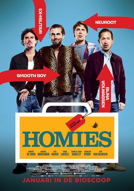 Four Friends, Twenty Two Kilos Of Coke. Check Out The Trailer For HOMIES.