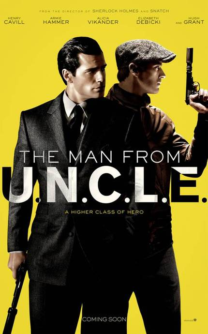 Guy Ritchie Delivers Big Action In First THE MAN FROM UNCLE Trailer