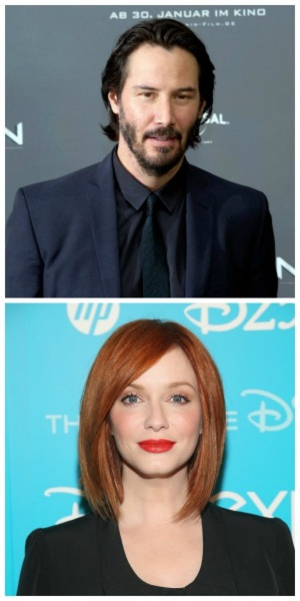THE NEON DEMON: Keanu Reeves And Christina Hendricks Join Refn's Horror Flick
