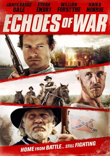 ECHOES OF WAR: Key Art For Kane Senes' Civil War Drama, Now With More Embry!