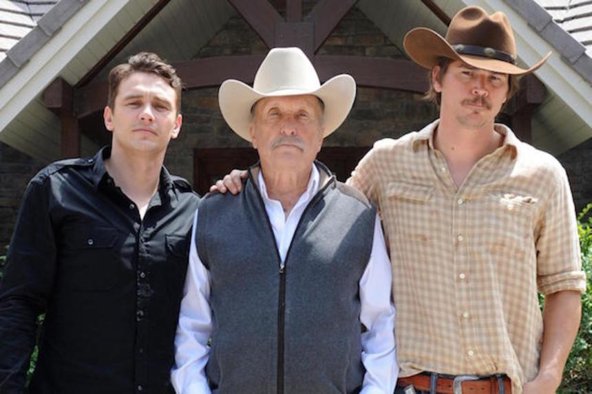 SXSW 2015 Interview: WILD HORSES, Robert Duvall Talks His Hatred For BONNIE AND CLYDE And THE SEARCHERS, With Co-Star Josh Hartnett