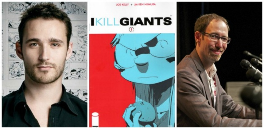 I KILL GIANTS: Adaptation Of Graphic Novel Gets Full Financing