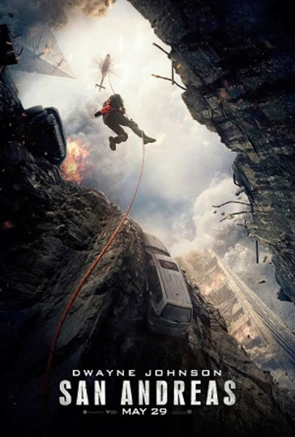 SAN ANDREAS: New Trailer Shows The Rock Rocked, As Seen By The Rock