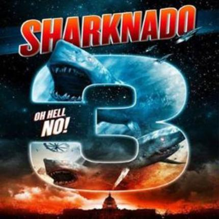 Sharknado 3 movie poster