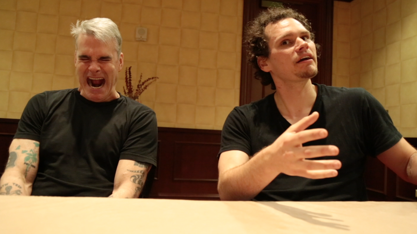 SXSW 2015 Video Interview: Henry Rollins and Jason Krawczyk Talk HE NEVER DIED