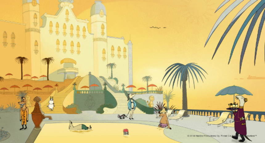 Exclusive Clip: MOOMINS ON THE RIVIERA Introduces A Delightful Family To France