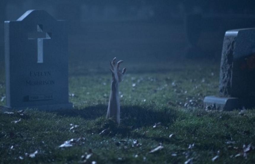 Trailer for Joe Dante's BURYING THE EX Shuffles Its Feet