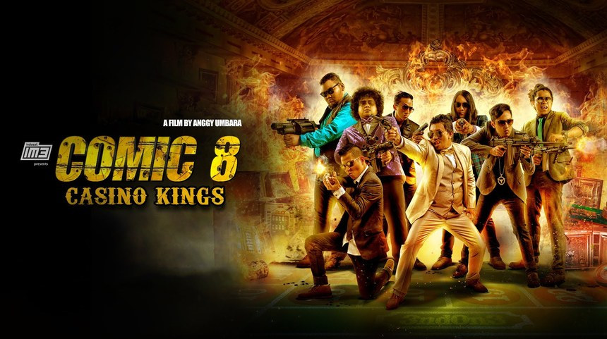 comic 8 casino kings streaming