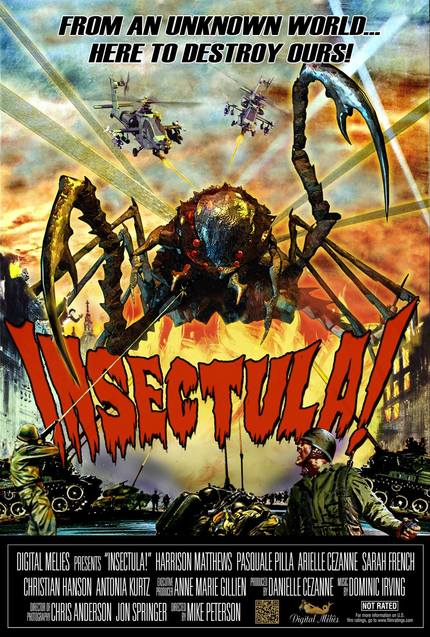 It Comes From Space To Suck Your Blood! Do You Dare Brave The Horrors Of INSECTULA?