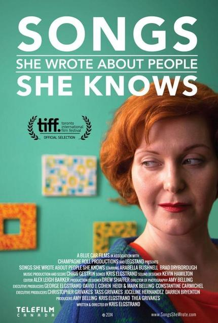 Hey, Toronto! Win Tickets To The Premiere Screening Of Kris Elgstrand's SONGS SHE WROTE ABOUT PEOPLE SHE KNOWS And Sing Along!