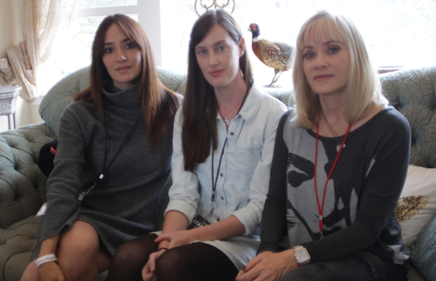 Stanley Film Festival 2015 Interview: The Ladies of SUN CHOKE On The Dark Side Of Humanity
