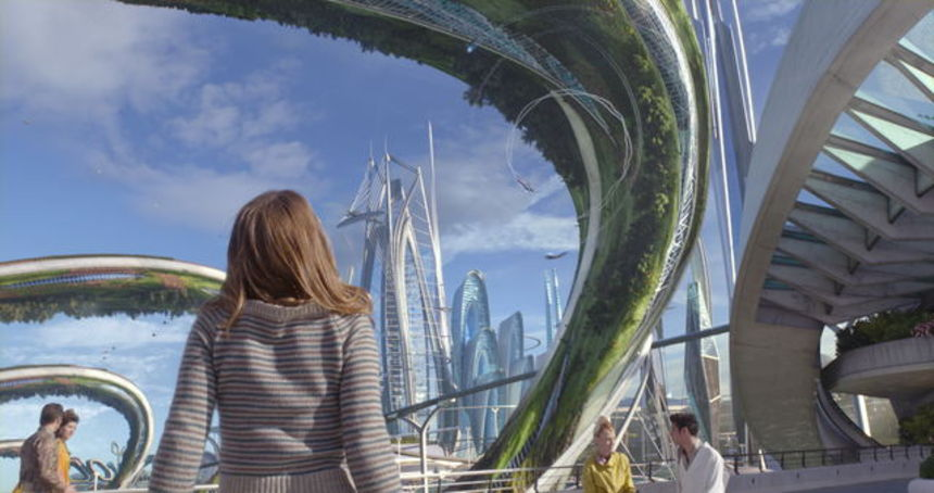 Review: TOMORROWLAND, Yearning For The Past, Dripping With Disney Spirit