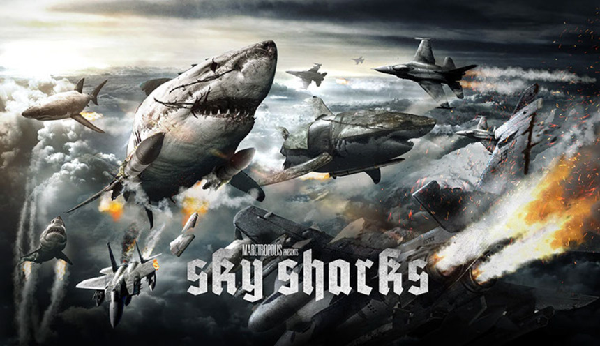 Raven Banner Bringing SKY SHARKS To Cannes