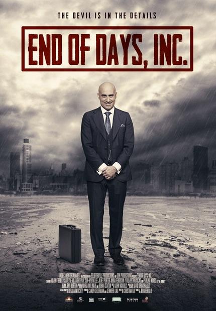 Poster Debut For Canadian Supernatural Dark Comedy END OF DAYS INC.