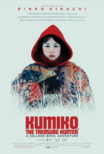 Hey, America! Win An iTunes Download Of The Zellner Brother's KUMIKO, THE TREASURE HUNTER!